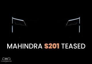 Mahindra S201 SUV Teased; Details To Be Revealed Tomorrow