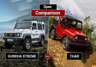 फोर्स गुरखा एक्सट्रीम बनाम महिंद्रा थार सीआरडीई : जाने कौन है बेहतर