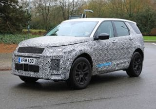 2020 Land Rover Discovery Sport Facelift Spied