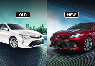 Toyota Camry Old Vs New: Major Differences