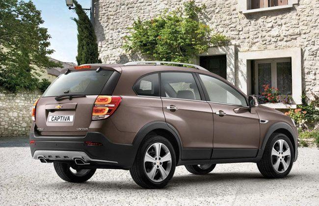 Chevrolet Captiva Price In New Delhi View 2019 On Road