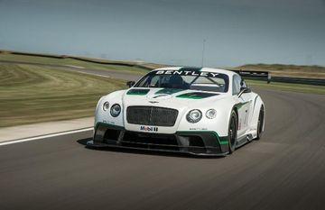 Bentley Continental GT3 Race Car debuts at Goodwood