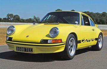 Historic Porsches Parade