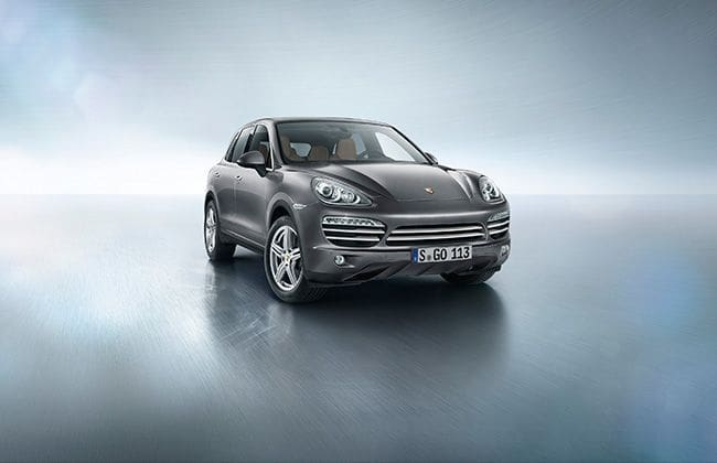Porsche introduces the Cayenne Platinum Edition