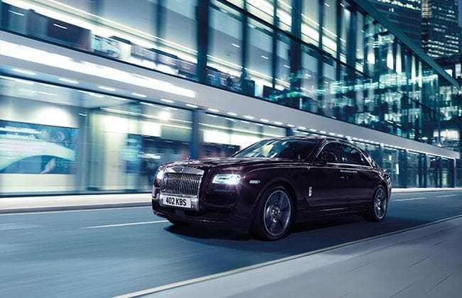 Rolls-Royce Ghost V-Specification introduced in India