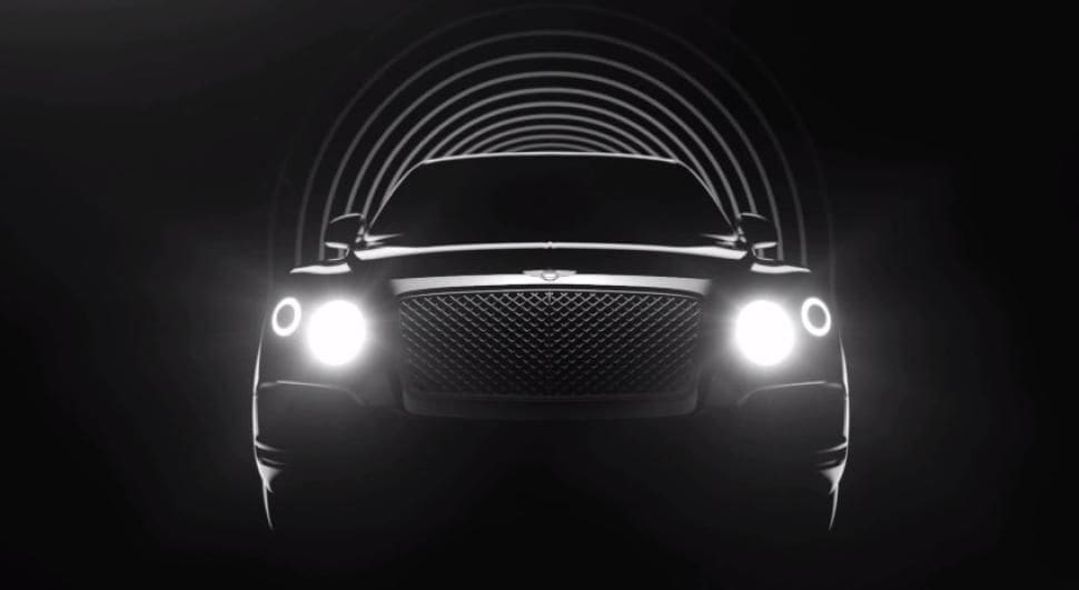 Bentley teases video of its upcoming SUV