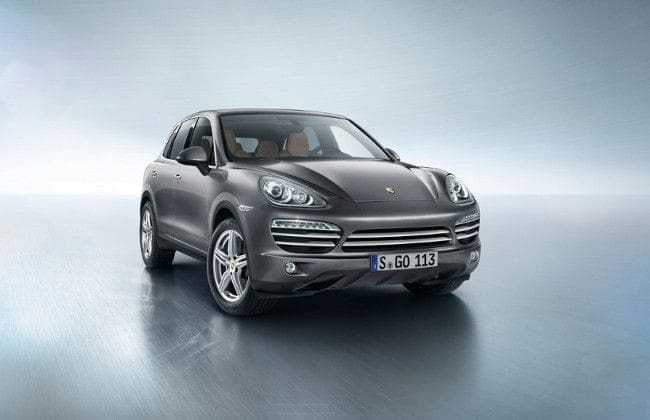 Porsche introduces Cayenne Diesel Platinum Edition