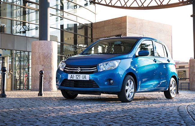 Suzuki Celerio with 6 Airbags and ESP to go on Sale in UK
