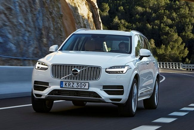 Volvo XC90 with T8 Twin Engine is the Cleanest and the Most Powerful SUV