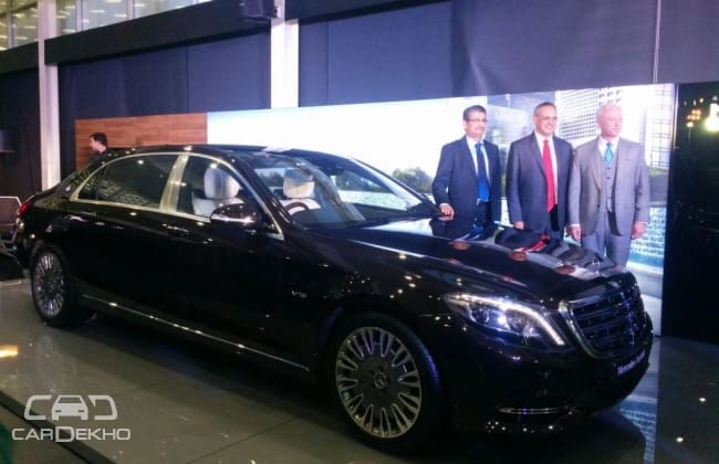 Mercedes-Maybach Launches S600 Sedan at Rs 2.6 Crore