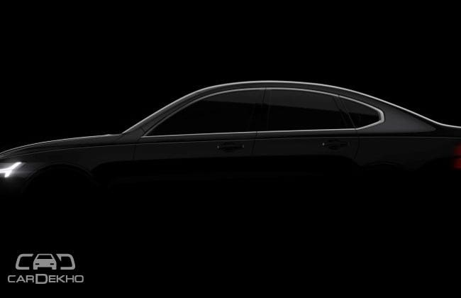Volvo Releases Teaser Images for S90