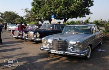 மும்பையில் 2வது கிளாஸிக் கார்களின் அணிவகுப்பு: மெர்சிடிஸ்-பென்ஸ் இந்தியா ஏற்பாடு செய்கிறது