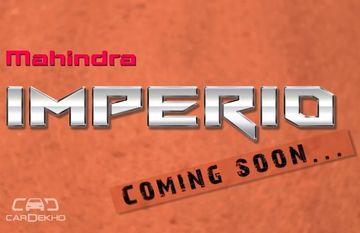 జనవరి 6, 2016 న ప్రారంభం కానున్న మహీంద్రా Imperio పికప్
