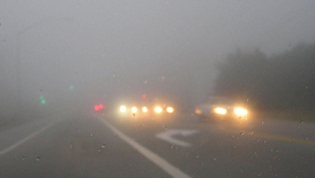 How to Reduce Risk while Driving in Fog?
