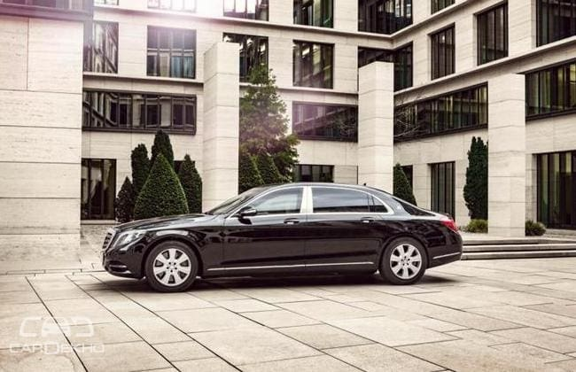 Mercedes Maybach S600 Guard to be Launched in India on March 8, 2016