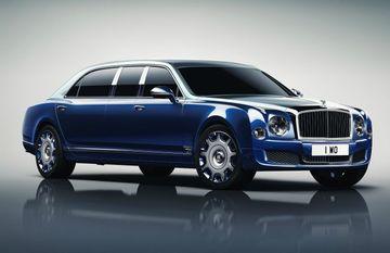 Bentley Mulsanne Grand Limousine Unveiled at Geneva Motor Show