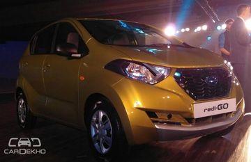 Datsun redi-GO makes global debut in India