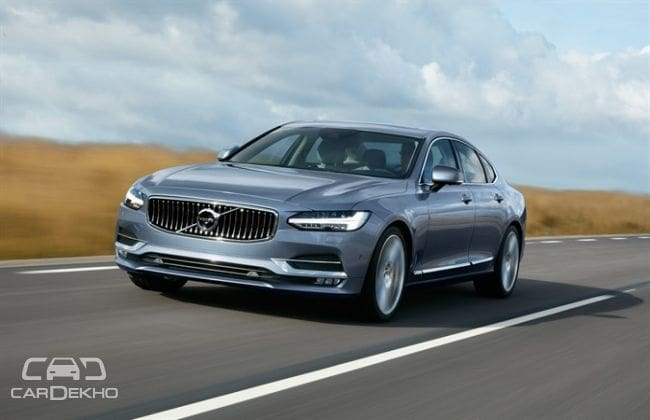 Volvo S90 Pre-Launch Bookings Commence!