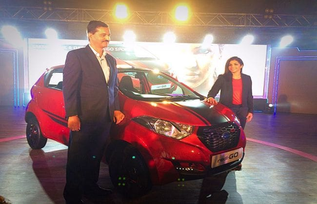 Datsun Launches redi-GO 'Sport' at Rs 3.49 Lakh