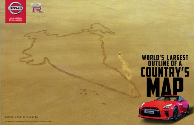 Nissan GT-R Celebrates 68th Republic Day Of India