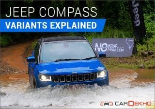 Jeep Compass: Variants Explained
