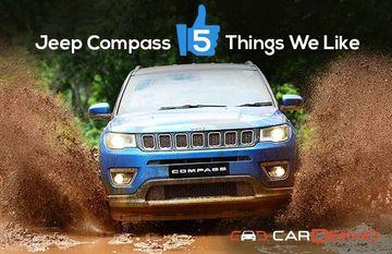 Jeep Compass: 5 Things We Like