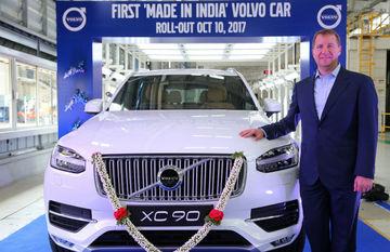 ये है वोल्वो की पहली मेड-इन-इंडिया कार