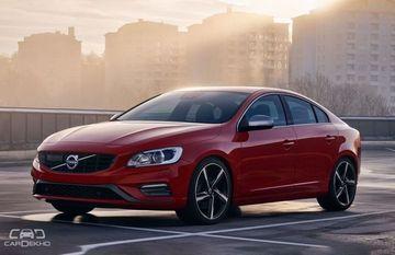 New Volvo S60 Sedan Won't Get A Diesel Engine