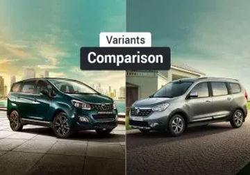 Mahindra Marazzo vs Renault Lodgy: Variants Comparison