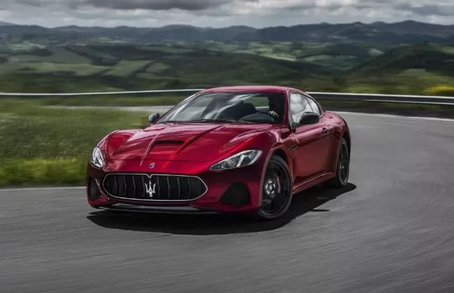 2018 Maserati GranTurismo Launched In India At Rs 2.25 Crore