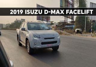 2019 Isuzu D-Max Spied; Likely To Get A New 1.9-litre Diesel Engine