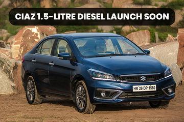 Maruti Ciaz 1.5 Diesel To Return 26.82kmpl; Launch In February 2019
