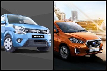 2019 Maruti Wagon R Vs Datsun GO: Variants Comparison