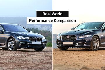 BMW 7 Series vs Jaguar XJL: Real-world Performance Comparison