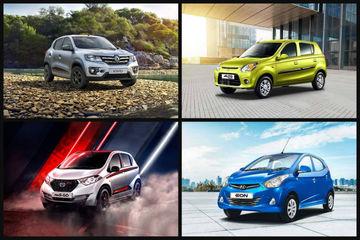 Cars In Demand: Maruti Suzuki Alto, Renault Kwid Top Segment Sales In January 2019