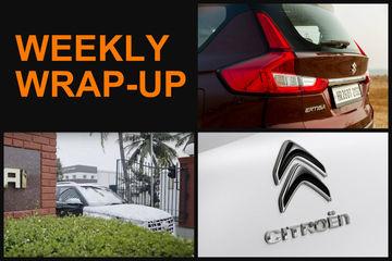 Weekly Wrap-up: Spy Pics Of MG Hector & Kia SP2i, Hyundai QXi Teased & More