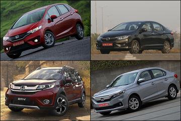 मई 2019 ऑफर्स: होंडा की इन कारों पर मिल रहे हैं विशेष ऑफर
