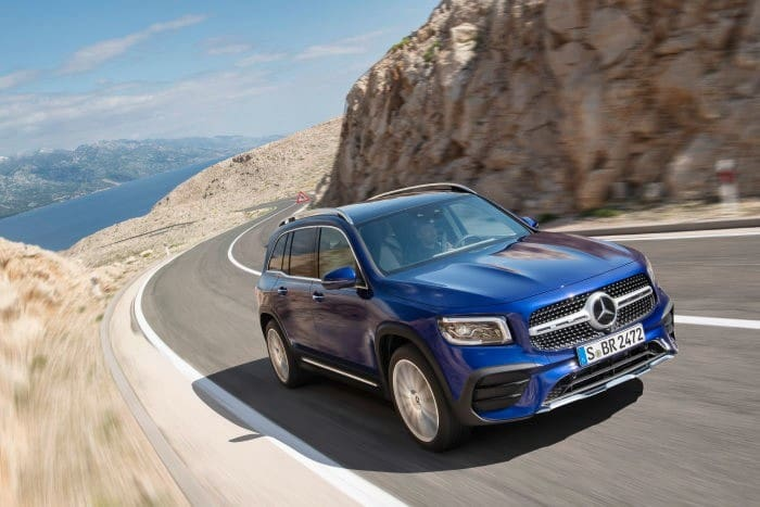 Mercedes-Benz GLB Revealed; Available In Both Five & Seven Seat Variations
