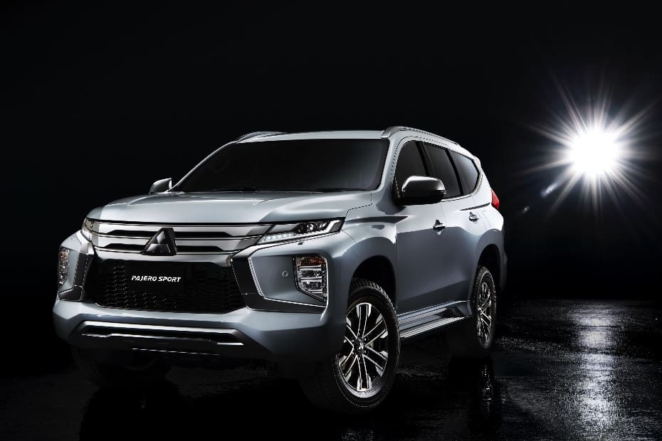2020 Mitsubishi Pajero Sport Facelift Unveiled; Features Revised Styling