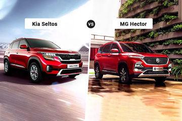किया सेल्टोस Vs एमजी हेक्टर, जानिए कौनसी कार रहेगी बेहतर