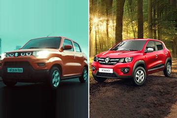 मारुति एस-प्रेसो Vs रेनो क्विड: तस्वीरों से जानिए कौनसी कार है बेहतर