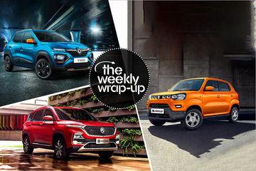 Top 5 Car News Of The Week: Maruti S-Presso, Renault Kwid Facelift, Ford-Mahindra JV & MG Hector