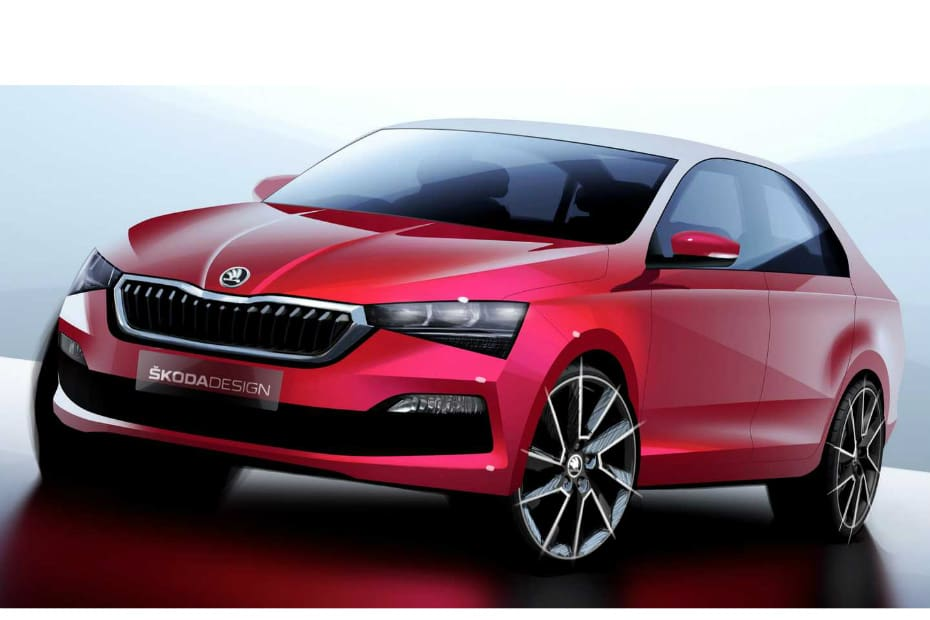 Next-gen Skoda Rapid Teased In Russia; India Launch Likely In 2022