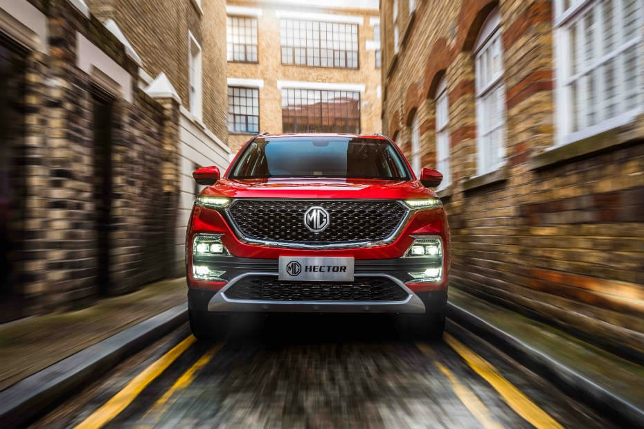 MG Ramps Up Hector Production Amidst Industry Slowdown
