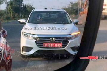 Honda Insight Hybrid Sedan Spied Testing In India