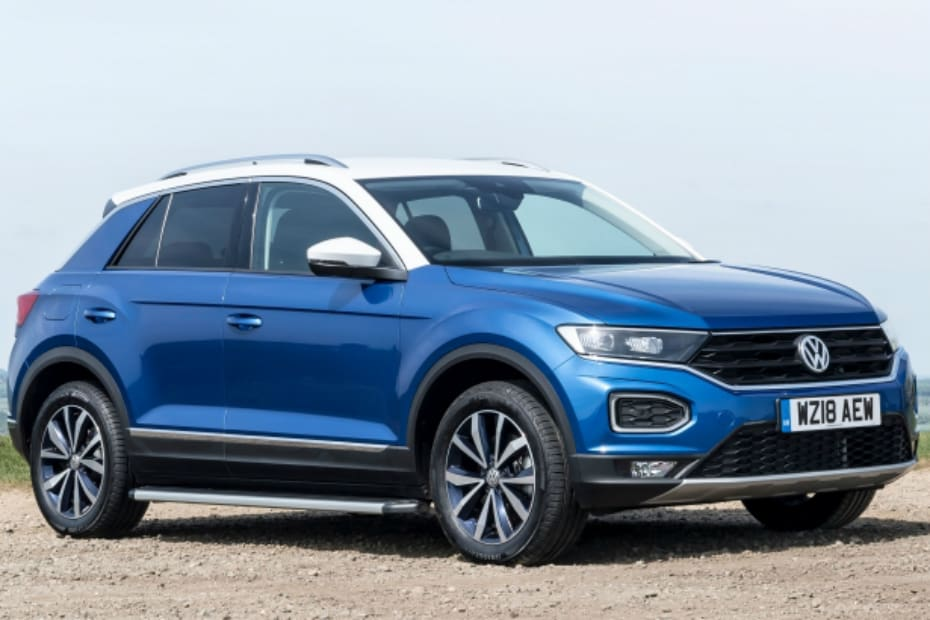 Volkswagen T-Roc SUV Spotted For The First Time In India