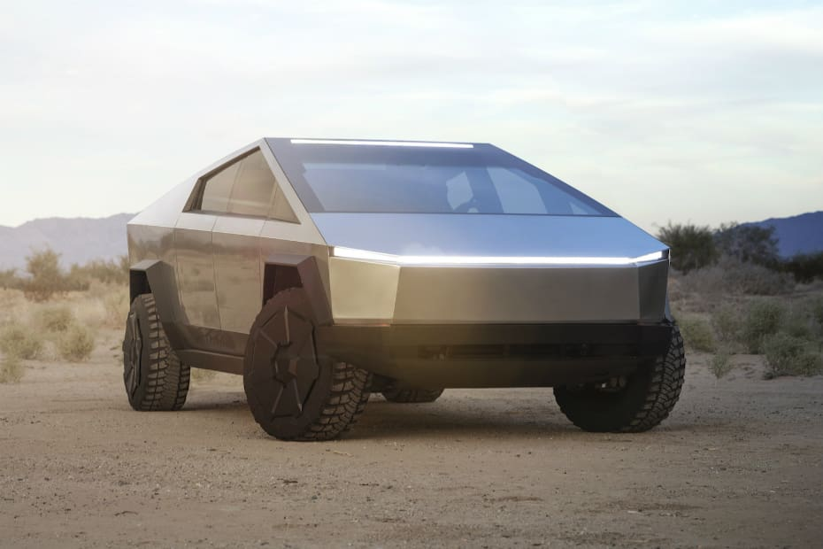Tesla Cybertruck Looks Like Something Straight Out Of The Movies