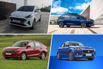 Hyundai Aura vs Maruti Dzire vs Honda Amaze vs Ford Aspire vs Tata Tigor vs VW Ameo vs Hyundai Xcent: Specification Comparison