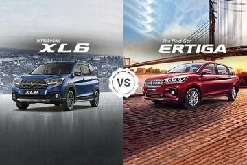 Maruti Ertiga vs XL6: Interior Space Comparison