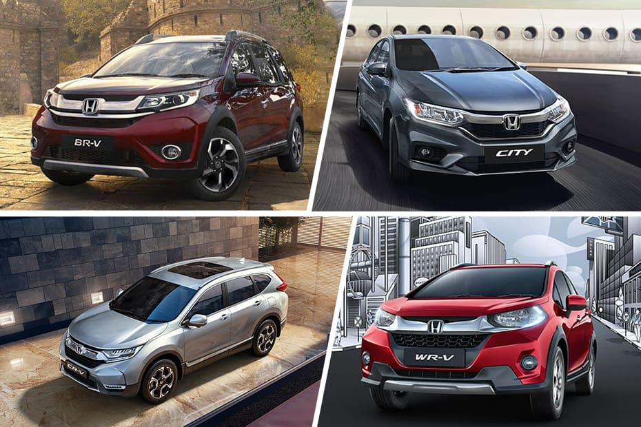 Honda CR-V Gets Maximum Discount Followed By BR-V And Civic In January 2020